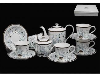 Чайный сервиз на 6 персон 16 предметов Lenardi Райская птица 555-084