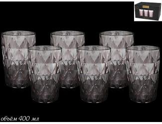 Набор из 6 стаканов для воды Lenardi розовый 588-298