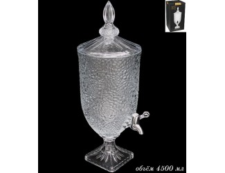 Кувшин с краником (лимонадник) Lenardi 5л 588-397