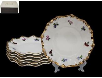 Набор из 6 тарелок 25см Lenardi Эмилия 666-319