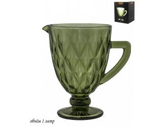 Графин 1л Lenardi зелёный 588-402