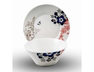 Набор 2 предмета Japonica тарелка+салатник Милан JDCC-30
