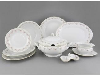 Сервиз столовый 25 предметов 6 персон Leander Верона Мелкие цветы 0158