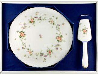 Набор для торта блюдо 29см+лопатка Narumi Воспоминание