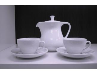 Сервиз чайный на 6 персон 15 предметов Royal Porcelain Public Белый Жемчуг