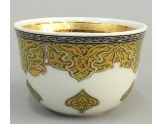 Чашка для арабского кофе 100мл Rudolf Kampf Национальные традиции линия Саудовская Аравия 02110403-2135k