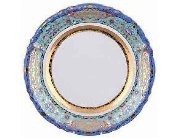 Блюдо круглое мелкое 32см Rudolf Kampf декор Иерусалим 07111315-2025k