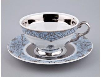 Чайная пара низкая с блюдцем Rudolf Kampf Национальные традиции 0,20л линия Иран декор 2065