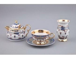 Подарочный набор чайный Rudolf Kampf 1 персона 6 предметов, декор Иерусалим 2025 07140824-2025k