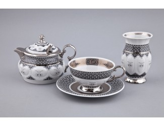 Подарочный набор чайный Rudolf Kampf 1 персона 6 предметов, декор Сирия 2115 07140824-2115k