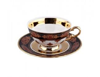 Набор чайных нар на 6 персон 12 предметов Rudolf Kampf Национальные традиции 0,20л линия Турция 07160425-2091