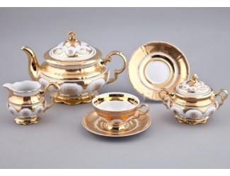 Сервиз чайный Rudolf Kampf Национальные традиции 15 предметов 6 персон (линия Египет) 07160725-2045