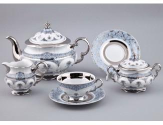 Сервиз чайный Rudolf Kampf Национальные традиции 15 предметов 6 персон (линия Иран) декор 2065