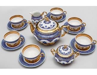 Сервиз чайный Rudolf Kampf Национальные традиции 15 предметов 6 персон (линия Узбекистан) 07160725-2085