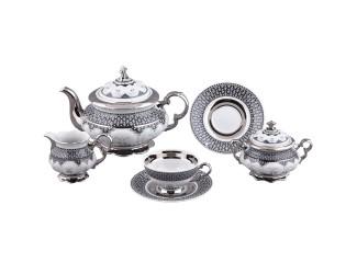 Сервиз чайный Rudolf Kampf Национальные традиции 15 предметов 6 персон (Сирия) декор 2115