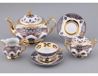 Сервиз чайный Rudolf Kampf Национальные традиции 15 предметов 6 персон (линия Саудовская Аравия1) 07160725-2125