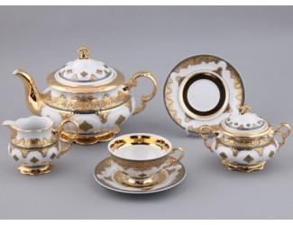 Сервиз чайный Rudolf Kampf Национальные традиции 15 предметов 6 персон линия Саудовская Аравия 07160725-2135
