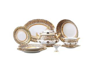 Сервиз столовый Rudolf Kampf Национальные традиции 25 предметов 6 персон (Марокко) 07162011-2075