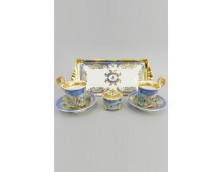 Подарочный набор чайный Тет-а-тет Rudolf Kampf линия Иерусалим декор 2025k