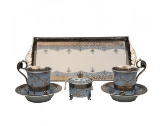 Подарочный набор чайный Тет-а-тет Rudolf Kampf линия Иран декор 2065 40140715-2065k
