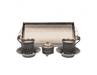 Подарочный набор чайный Тет-а-тет Rudolf Kampf линия Сирия декор 2115 40140715-2115k