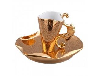Чайная пара высокая Rudolf Kampf Дали 0,15л 46120414-2252k