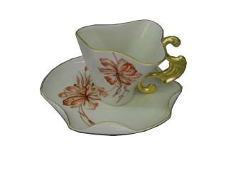 Чайная пара Rudolf Kampf Дали 0,15л 46120425-240Gk