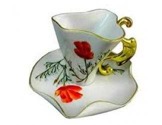 Чайная пара Rudolf Kampf Дали 0,15л мак 46120425-240Lk
