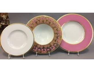 Набор тарелок Rudolf Kampf Кельт 18 предметов, розовый 52160119-2291