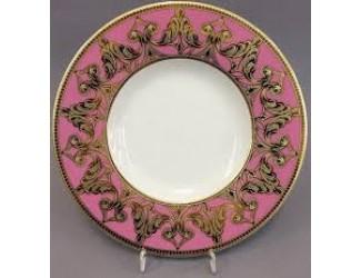 Набор тарелок Rudolf Kampf Кельт 33см 6шт розовый 52160333-2291