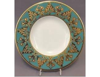 Набор тарелок Rudolf Kampf Кельт 33см 6шт бирюза 52160333-2292
