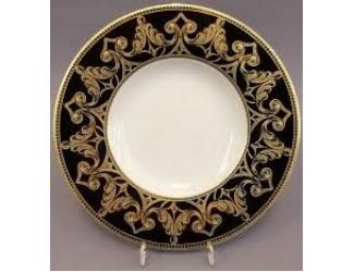 Набор тарелок Rudolf Kampf Кельт 33см 6шт черный 52160333-2293