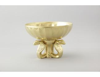 Ваза с кобрами Rudolf Kampf Древний Древний Египет 28см (золото) 61116154-2012k