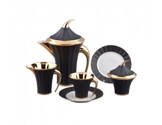 Сервиз чайный Rudolf Kampf Древний Египет 15 предметов 6 персон  декор 61160725-2112 золото