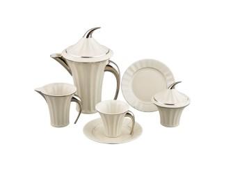 Сервиз чайный Rudolf Kampf Древний Египет 15 предметов 6 персон (слоновая кость) 61560725-2014k