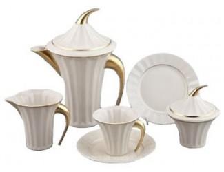 Сервиз чайный Rudolf Kampf Древний Египет 15 предметов 6 персон (слоновая кость) 61560725-2015