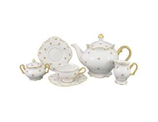 Сервиз чайный Rudolf Kampf Юбилейная коллекция 15 предметов 6 персон 68160725-2524