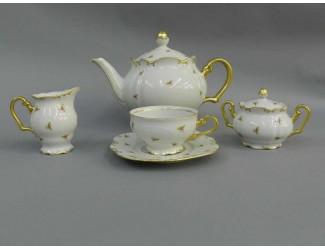 Сервиз чайный Rudolf Kampf Юбилейная коллекция 15 предметов 6 персон 68160725-2524k