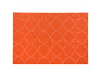 """Салфетка подстановочная 33х48см """"Панамская плитка"""", оранжевый"""
