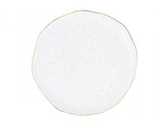 Тарелка Easy Life (R2S) Artesanal (белая) без инд.упаковки