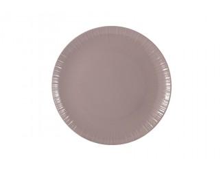 Тарелка закусочная 19см (какао) Home & Style
