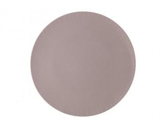 Тарелка обеденная (какао) Home & Style без инд.упаковки
