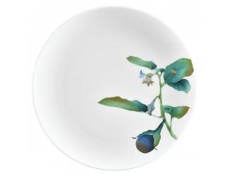 Тарелка закусочная Noritake Овощной букет Баклажан 24см