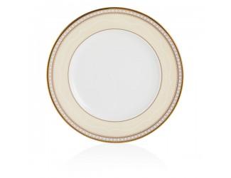 Тарелка закусочная Noritake Трефолио золотой кант 22см